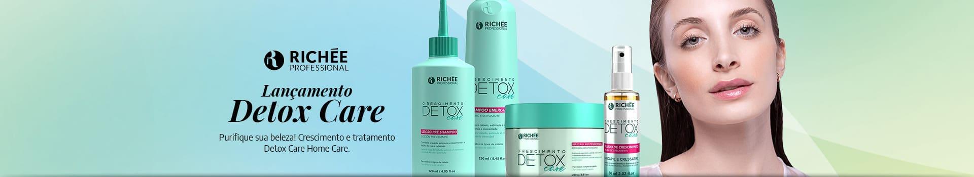 Lançamento Detox Care Richée