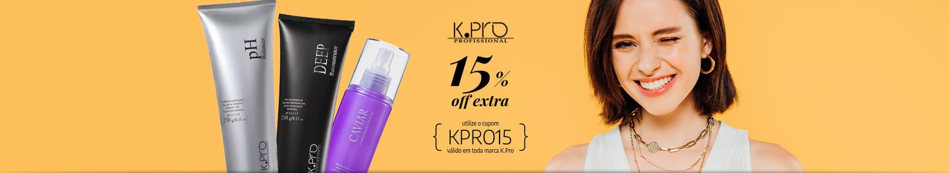 K.pro 15% off extra