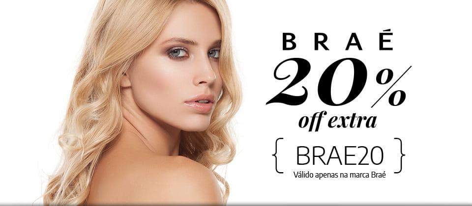 Braé 20% OFF EXTRA com cupom BRAE20