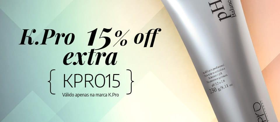 K.Pro 15% off