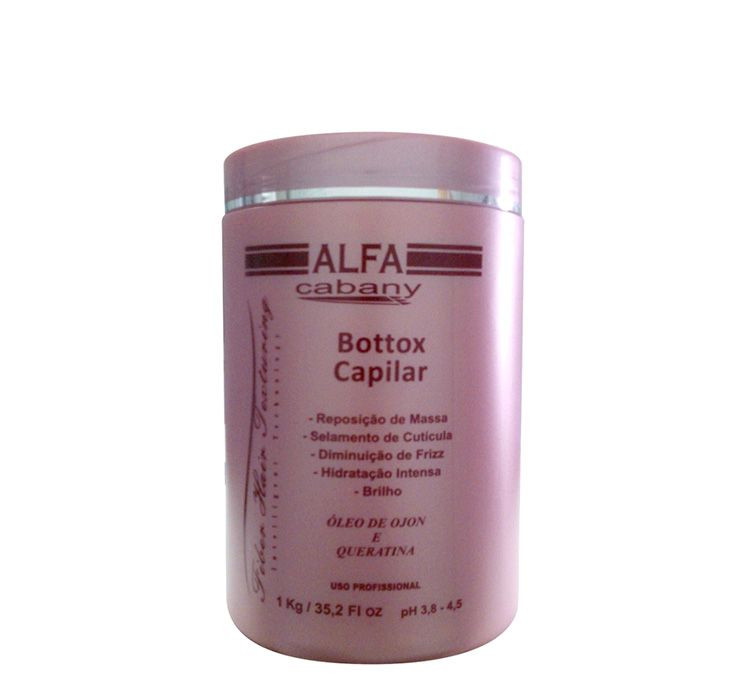 Alfa Cabany Botox Capilar Fiber Hair Texturing 1 kg