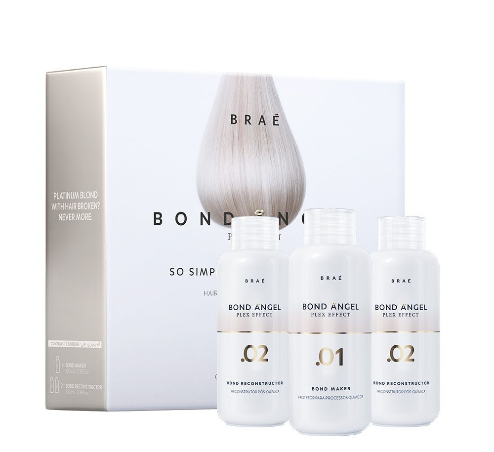 Braé Bond Angel Plex Effect Kit Profissional 100ml (3x100ml)