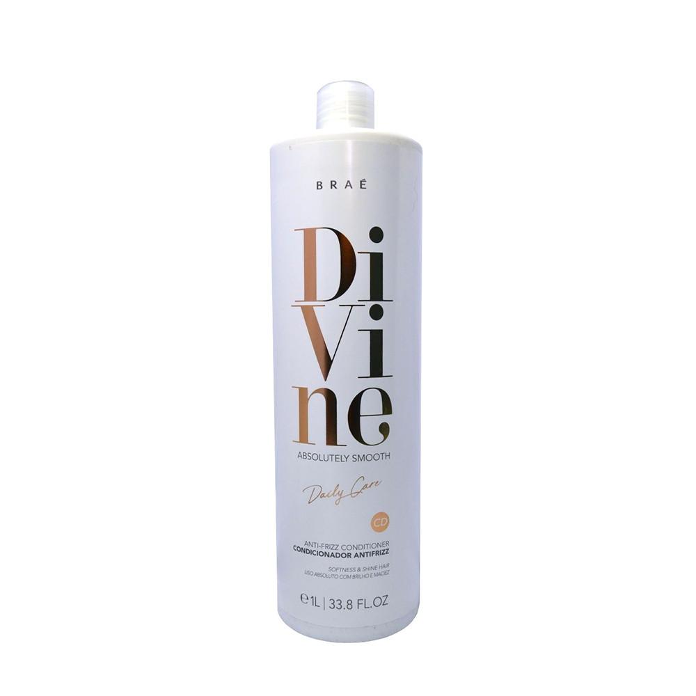 Braé Divine Absolutely Smooth Condicionador Antifrizz 1L