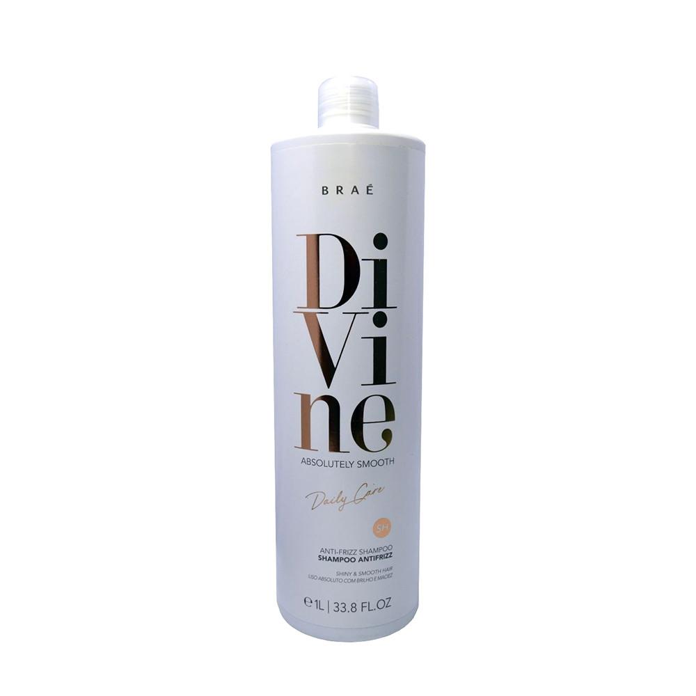 Braé Divine Absolutely Smooth Shampoo Antifrizz 1L