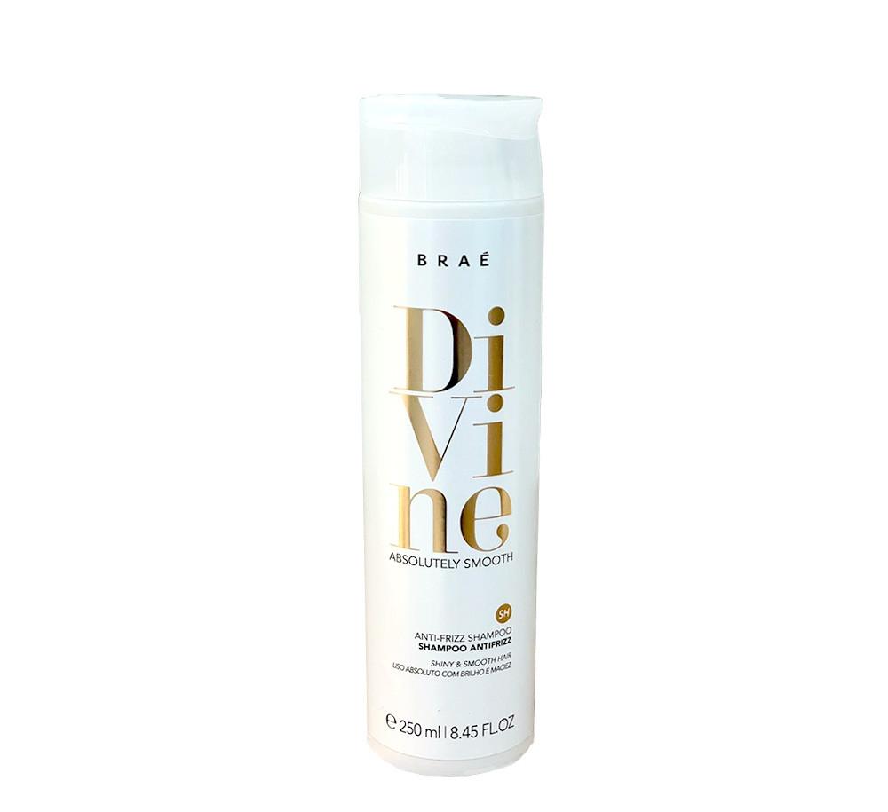 Braé Divine Absolutely Smooth Shampoo Antifrizz 250ml
