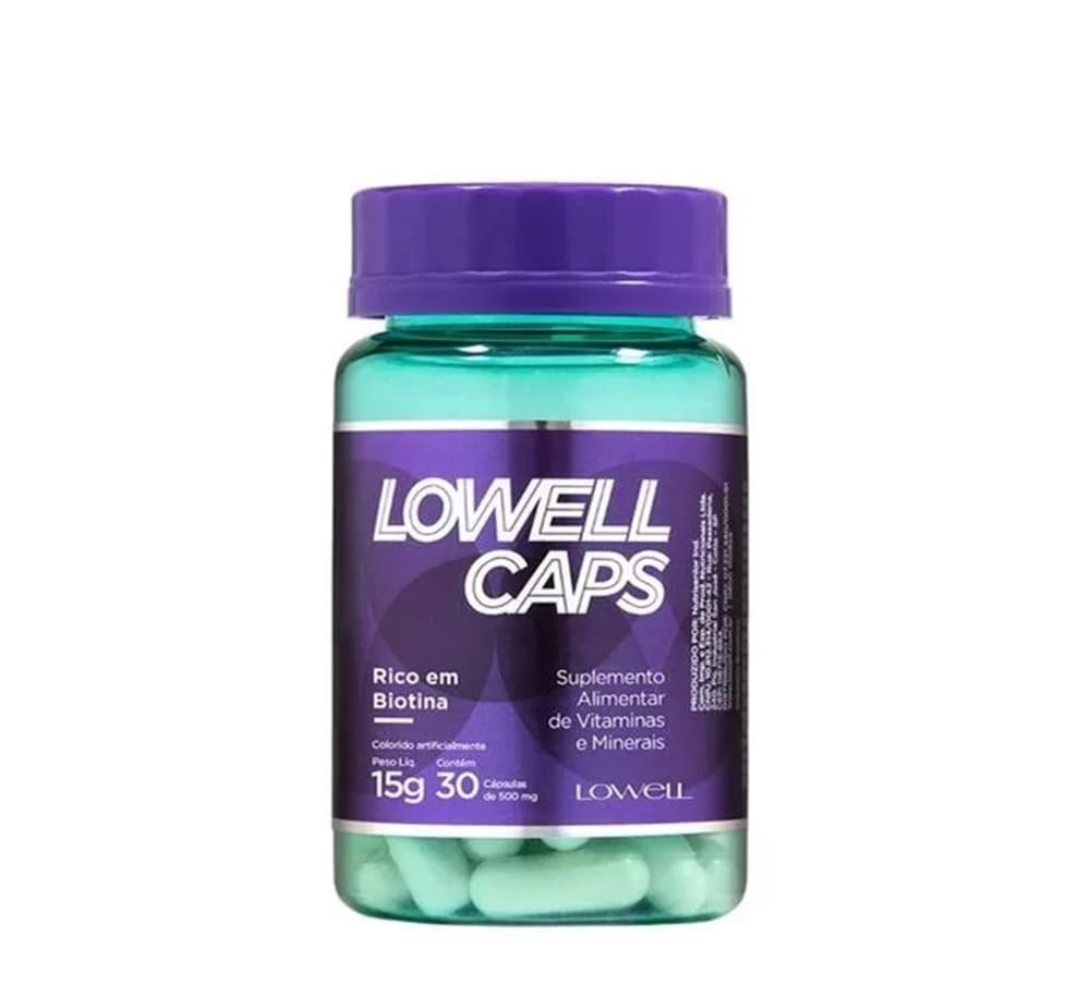Lowell Caps Cápsulas De Crescimento (30x500mg) (