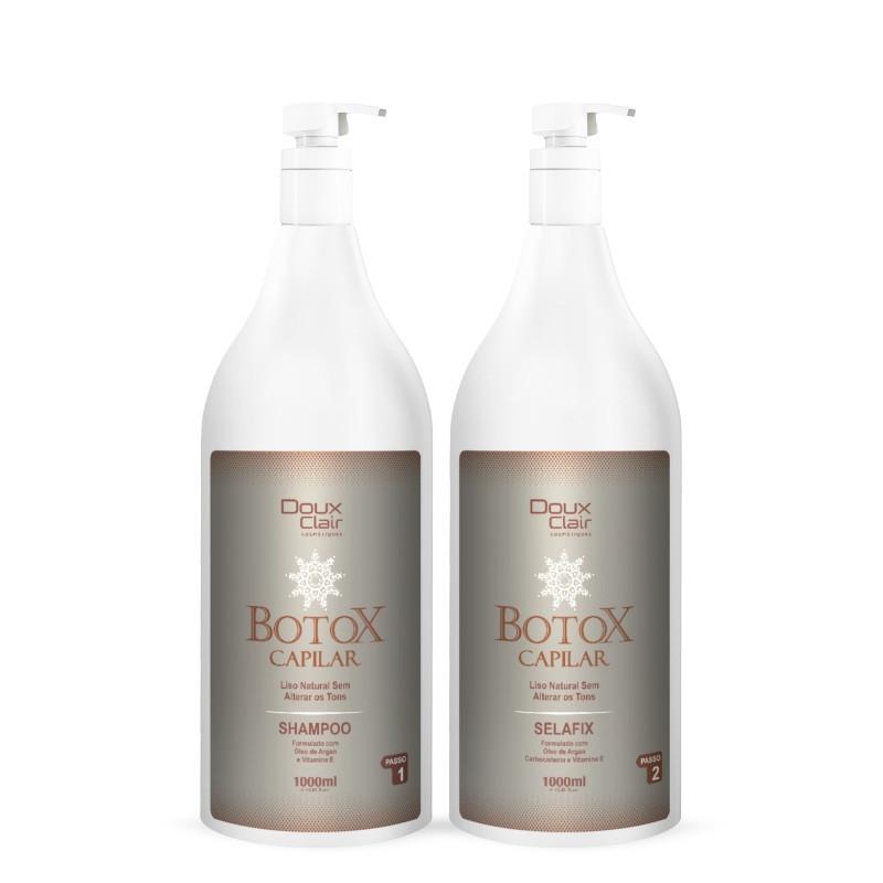 Doux Clair Kit Btx Capilar Argan Premium