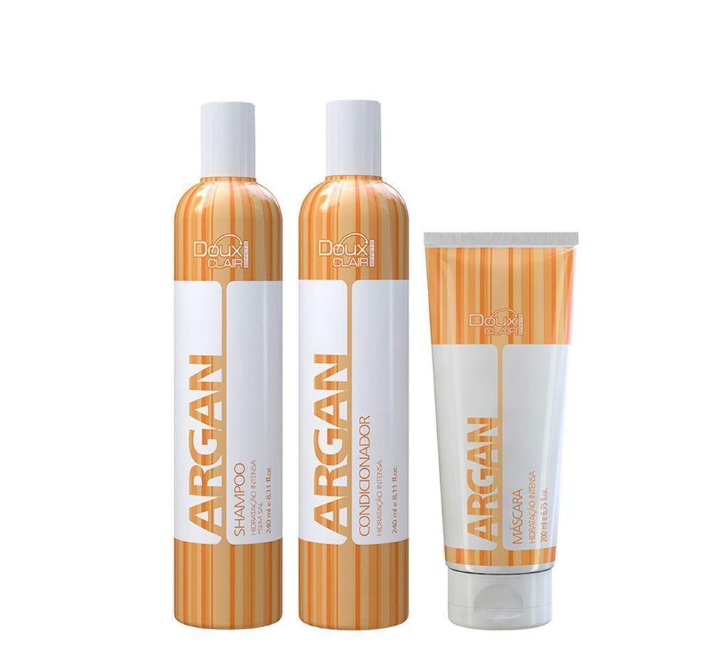 Doux Clair Effets Argan Kit Tratamento (3 produtos)