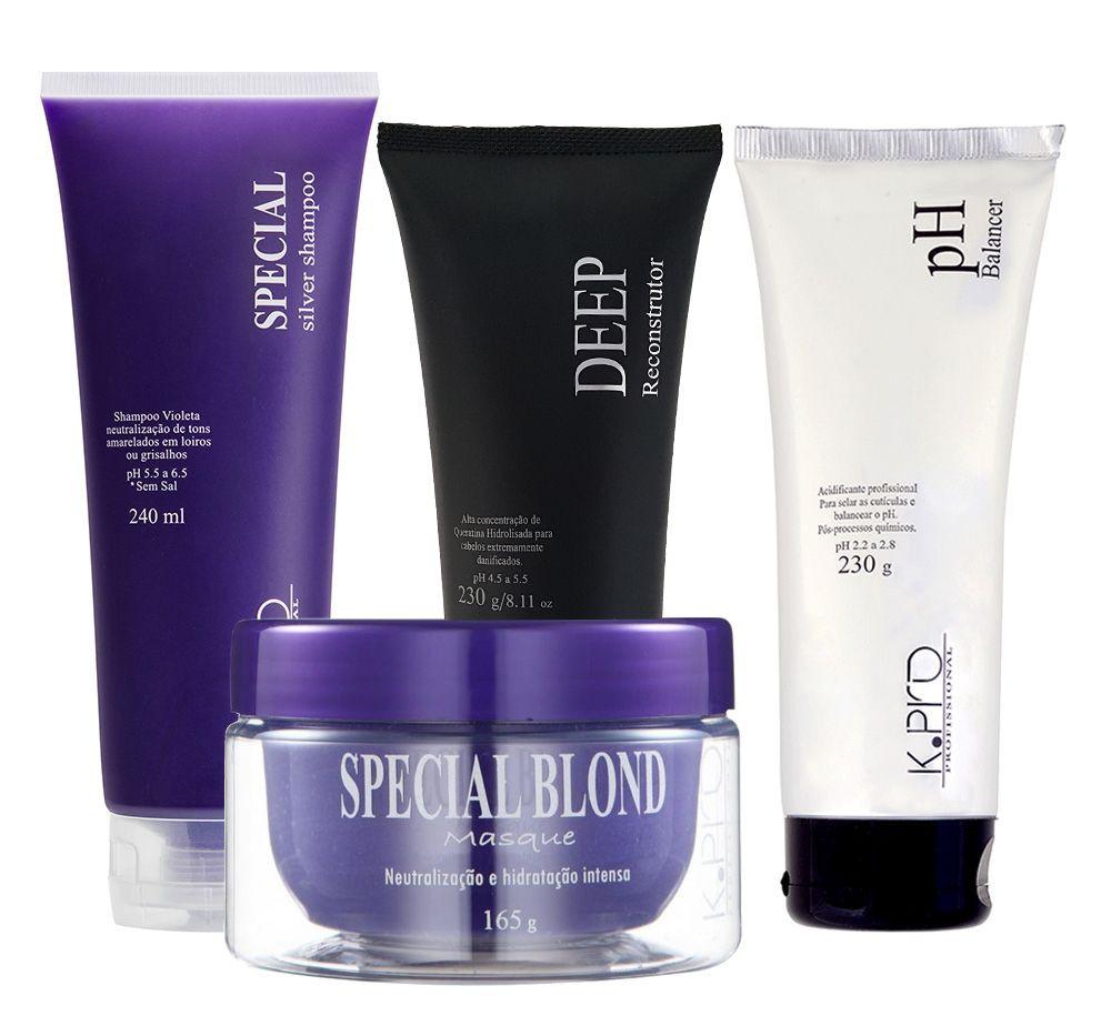 K.Pro Special Blond System Kit Tratamento