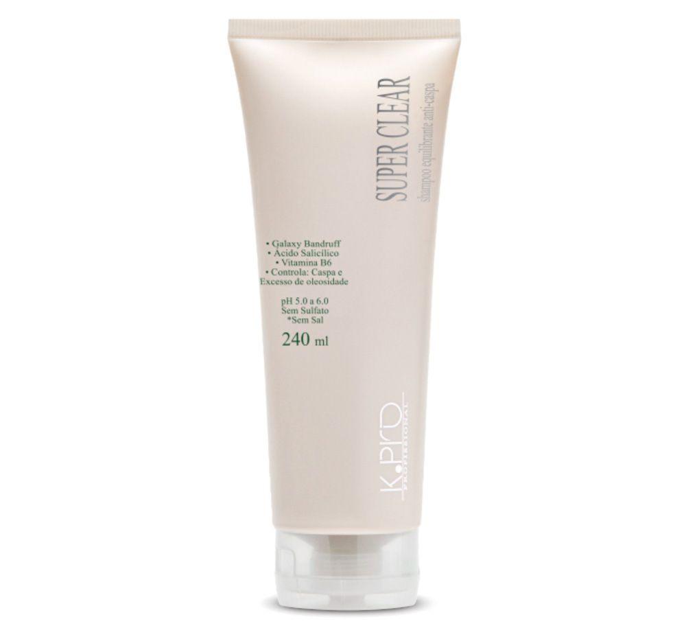 K.Pro Super Clear Shampoo Anti Caspa 240ml