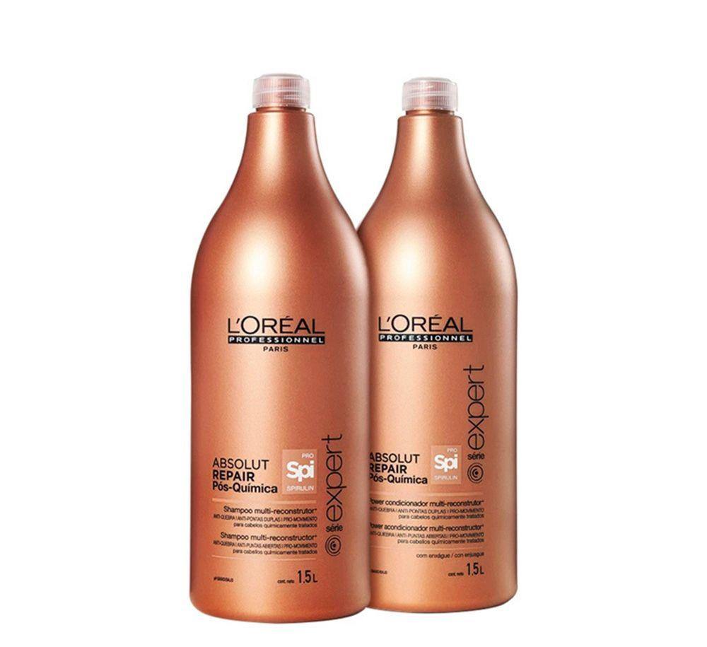 L'Oréal Absolut Repair Pós Química Kit Duo Profissional (2x1,5L)