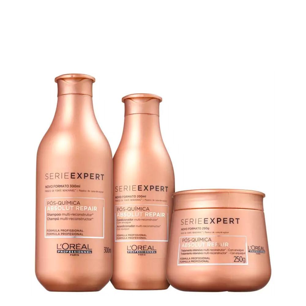 L'Oréal Absolut Repair Pós Química Kit Tratamento