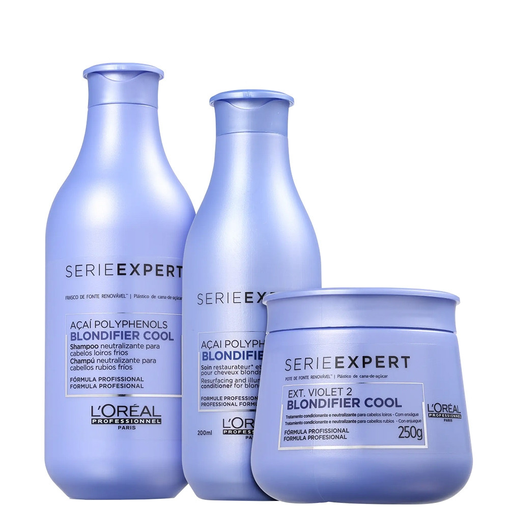 L'Oréal Blondifier Serie Expert Cool Matizador Kit Tratamento