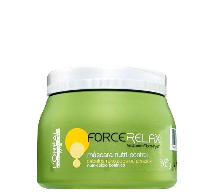 L'Oréal Force Relax Máscara Nutri Control 500g