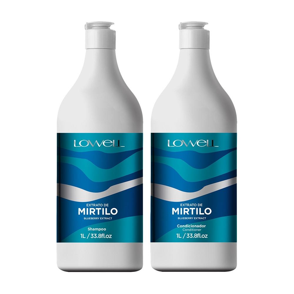 Lowell Mirtilo Kit Duo Profissional (2x1L)