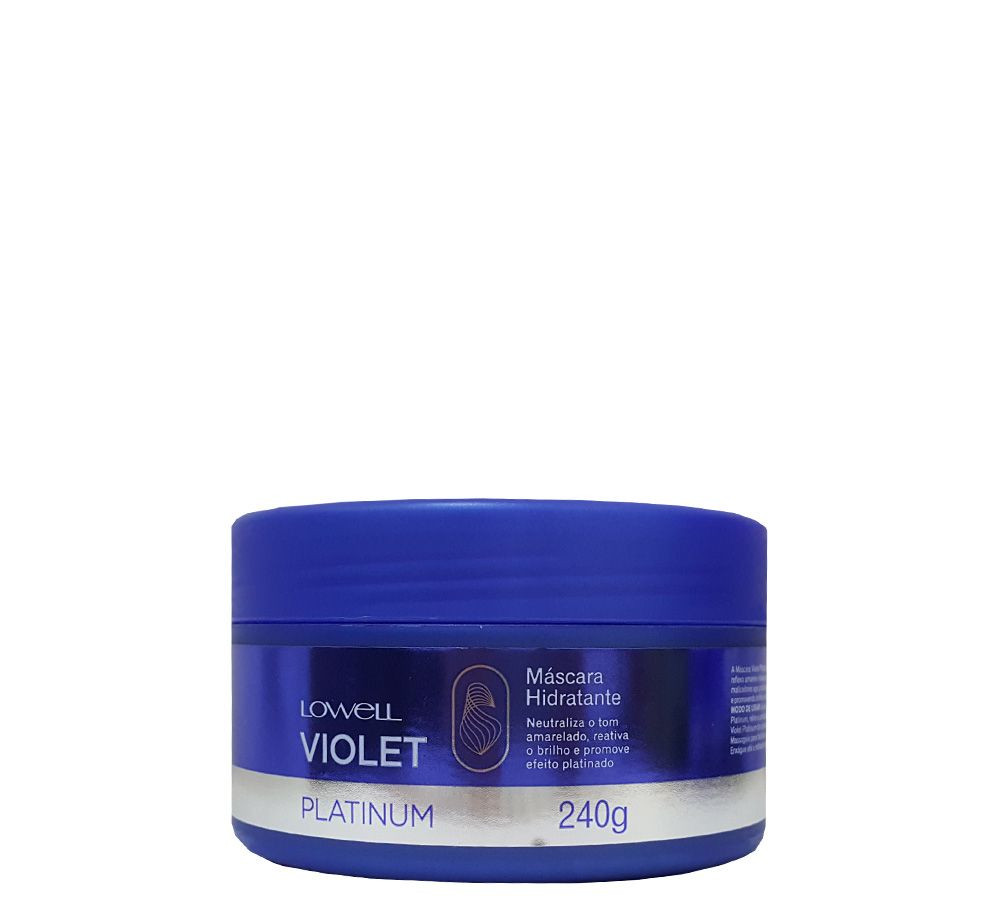 Lowell Special Care Violet Platinum Máscara 240g
