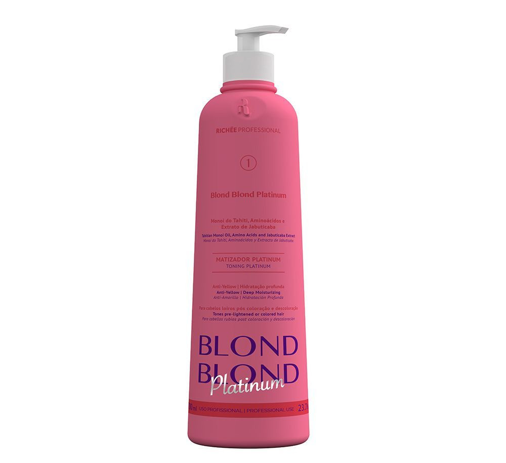 Richée Blond Blond Matizador Platinum 700ml