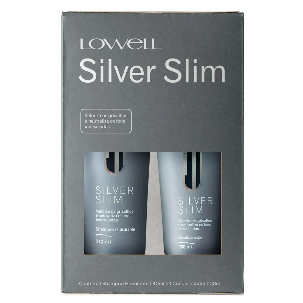 Lowell Silver Slim Kit Duo