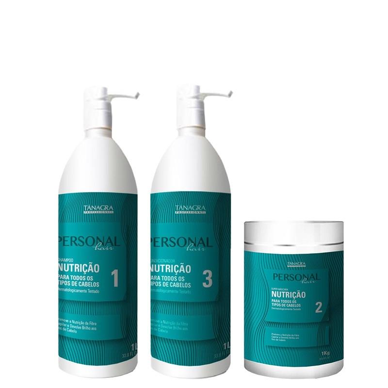 Tânagra Personal Hair Kit Profissional Nutrição Tratamento