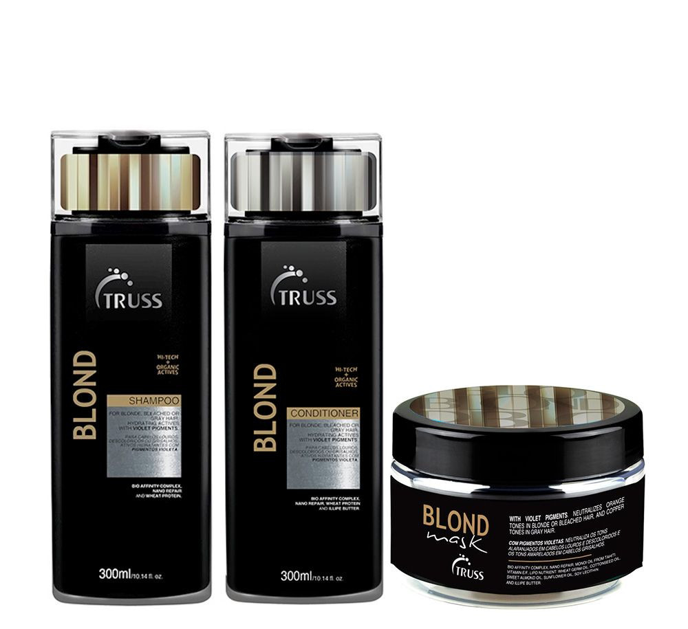 Truss Blond Kit Tratamento (3 produtos)