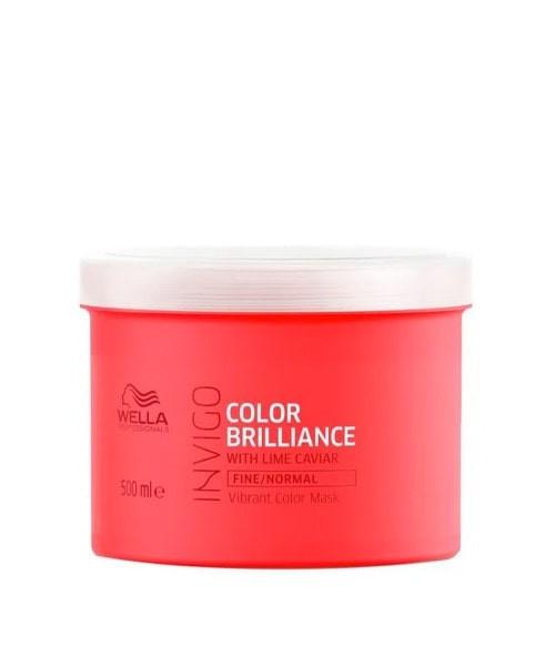 Wella Invigo Color Brilliance Máscara Cabelo Normal e Fino 500ml