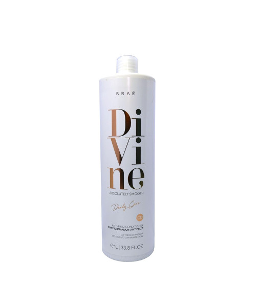 Braé Divine Absolutely Smooth Condicionador Antifrizz 1L