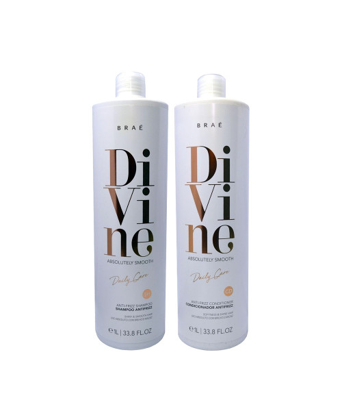 Braé Divine Absolutely Smooth Kit Duo Profissional (2x1L)