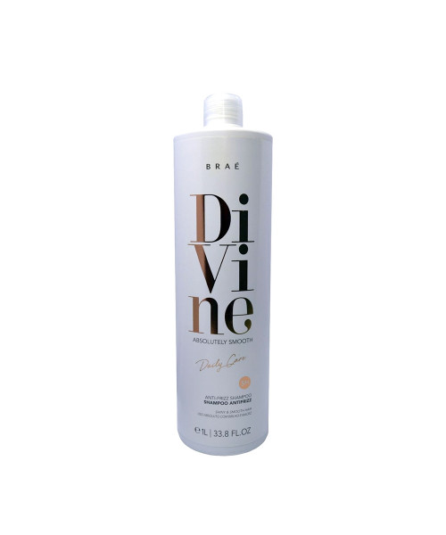 Braé Divine Absolutely Smooth Shampoo Antifrizz 1L