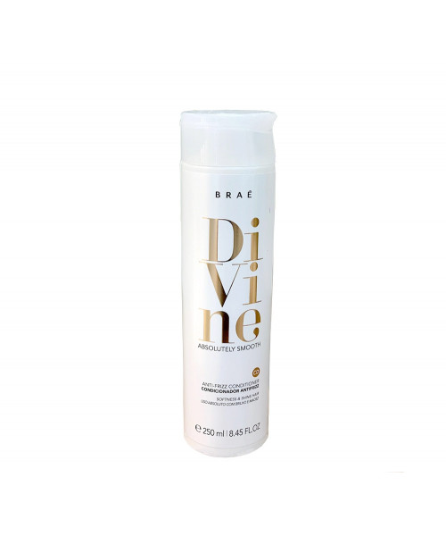 Braé Divine Absolutely Smooth Condicionador Antifrizz 250ml