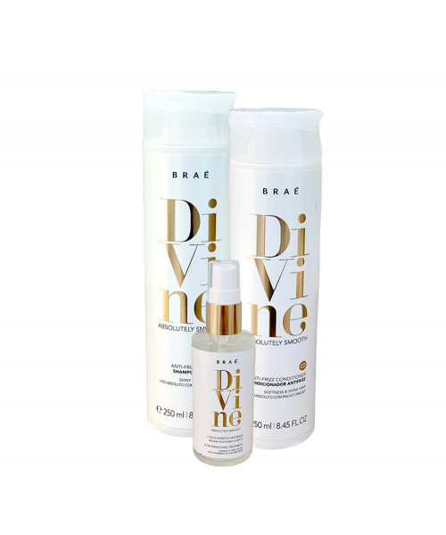 Braé Divine Absolutely Smooth Kit Tratamento (3 produtos)