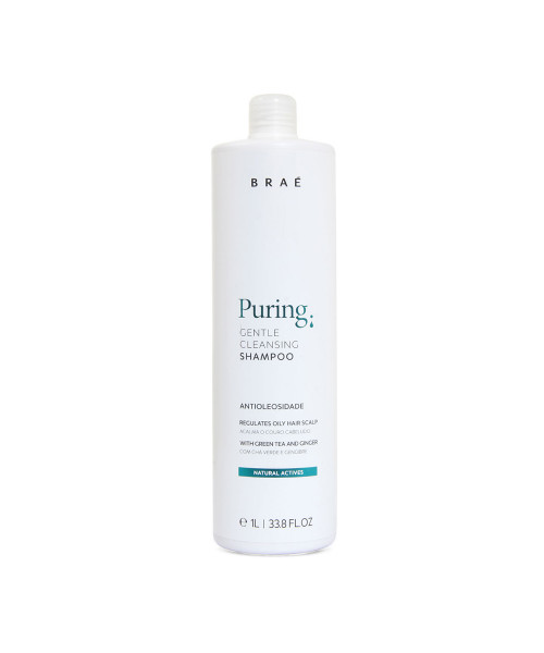 Braé Puring Gentle Cleasing Shampoo Anti-Oleosidade 1L
