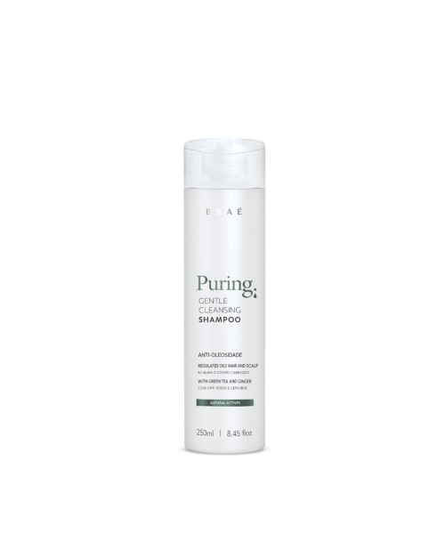 Braé Puring Gentle Cleasing Shampoo Anti-Oleosidade 250ml