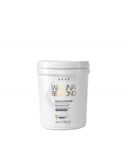 Braé Wanna Be Blond Pó Descolorante 500g