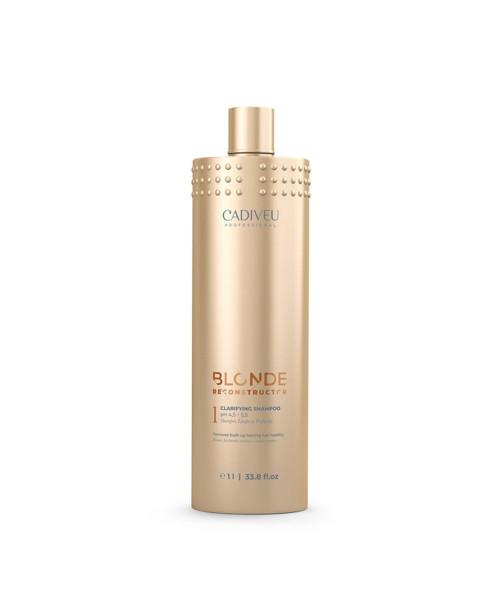 Cadiveu Blonde Reconstructor Clarifying Shampoo 1L