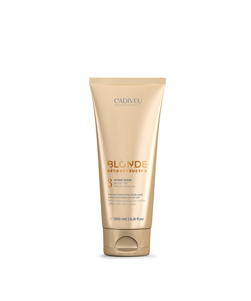 Cadiveu Blonde Reconstructor Máscara Acidificante 200ml