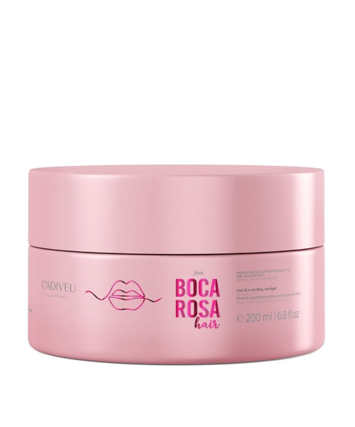 Cadiveu Boca Rosa Hair Máscara Condicionante de Quartzo 200ml