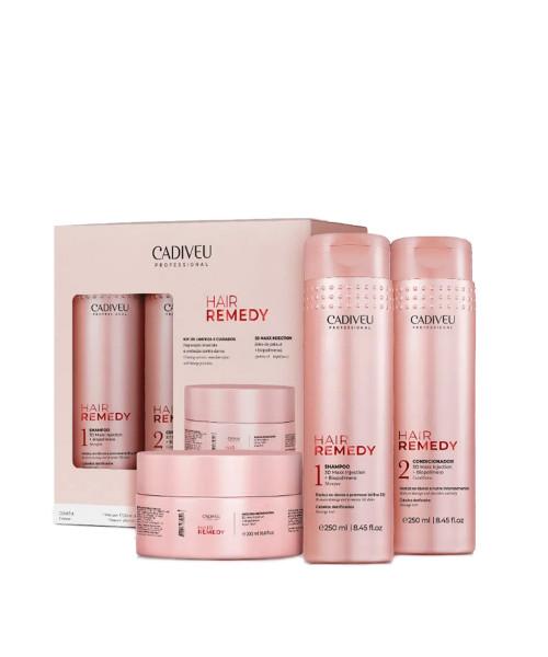 Cadiveu Hair Remedy Kit Promocional (3 produtos)