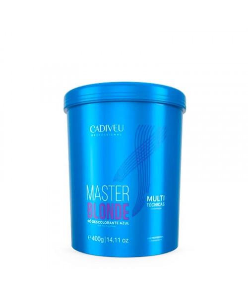 Cadiveu Master Blond Pó Descolorante Azul 400g