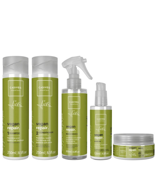 Cadiveu Vegan Repair by Anitta Kit Tratamento Completo (5 produtos)