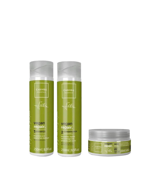 Cadiveu Vegan Repair by Anitta Kit Tratamento (3 produtos)