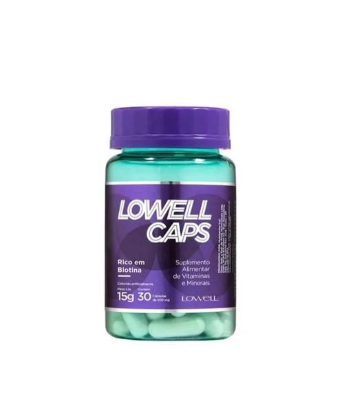 Lowell Dynamic Lowell Caps Cápsulas de Crescimento (30x500mg)