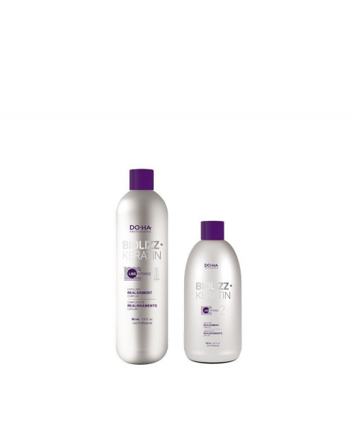 DO•HA Biolizz Keratin Kit Escova Progressiva Unidose (Mini)
