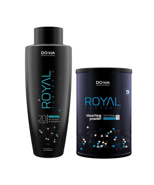 DO•HA Royal Fantasie Kit Descoloração Profissional Ox 20 Vol.