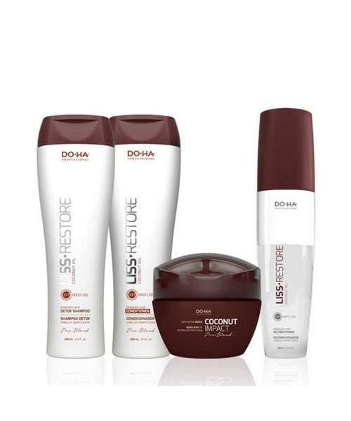 DO•HA Liss Restore Kit Tratamento Completo (4 produtos)