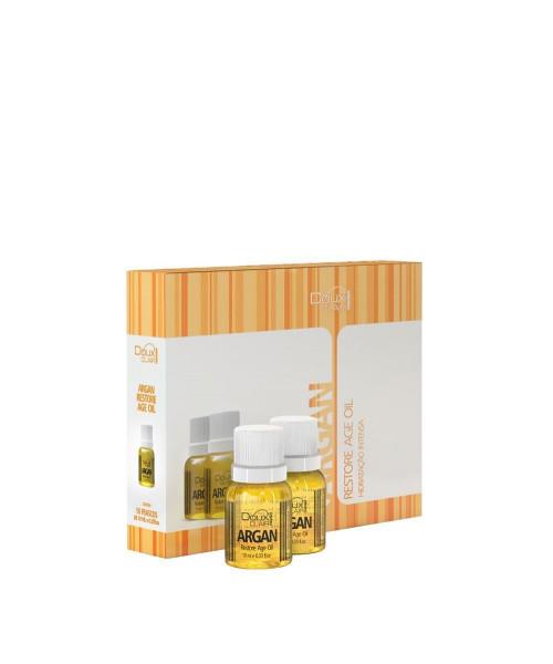 Doux Clair Effets Argan Restore Age Oil Caixa de Ampolas (Cx 10 x 10ml)