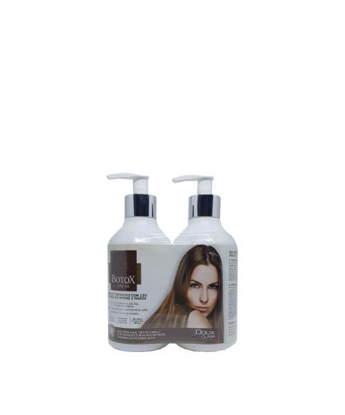 Doux Clair Kit Selafix Btx Capilar Argan Premium (2X300ml)