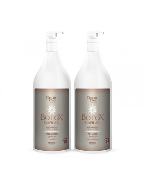 Doux Clair Kit Selafix Btx Capilar Argan Premium (2x1L)