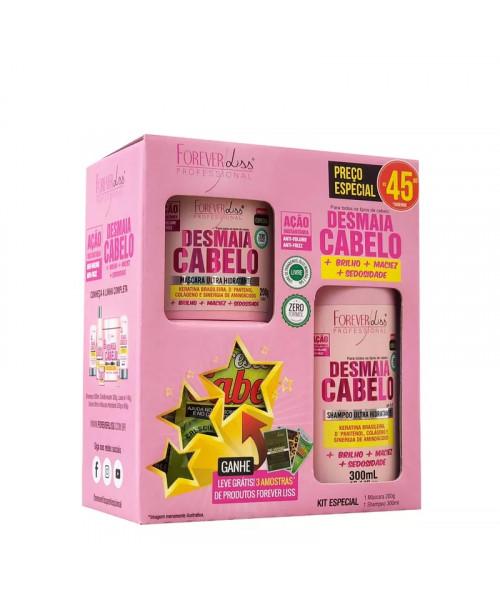 Forever Liss Desmaia Cabelo Kit Especial (2 produtos)