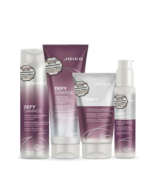 Joico Defy Damage Protective Kit Tratamento Completo (4 Produtos)