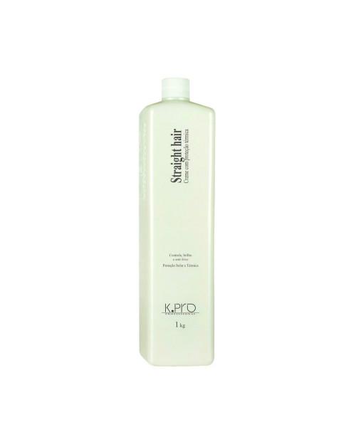 K.Pro Straight Hair Creme Com Proteção Térmica 1Kg